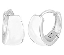 Damen Ohrhänger Creolen Basic 925 Sterling Silber 309381212