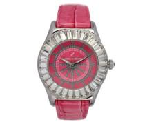 Damen-Armbanduhr Analog Quarz Leder DHD 006S-OO