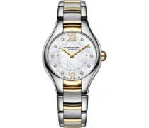 Damen-Armbanduhr Noemia Analog Quarz Edelstahl 5124-STP-00985