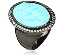 Damen-Ring Zirkonia Transparent Rundschliff - Größe 56 (17.8)