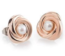 Damen-Ohrstecker Titan Perle weiß - 0590-03