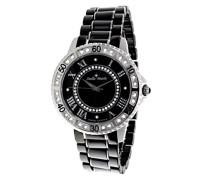 Damen-Armbanduhr Analog Quarz Premium Keramik Diamanten - STM13G448