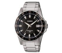 Herren Analog Automatisch mit Edelstahl Armbanduhr MTP 1290D 1A2VEF