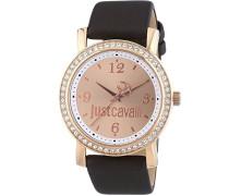 Damen-Armbanduhr Analog Quarz Leder R7251103508