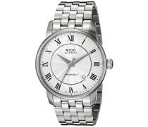 Mido Herren-Armbanduhr XL Baroncelli Analog Automatik Edelstahl M86004211