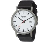 Herren-Armbanduhr Leder 3538-01