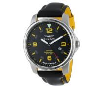Sector Herren-Armbanduhr Analog Quarz Leder R3251189025