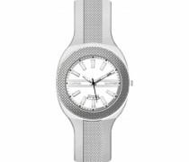 Unisex-Armbanduhr  Analog Quarz Silikon 373B