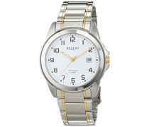 Herren-Armbanduhr Analog Quarz Edelstahl 11160244