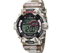 Herren-Armbanduhr Digital Quarz Plastik DI-016-03