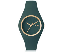 - ICE glam forest Urban chic - Grüne Damenuhr mit Silikonarmband - 001062 (Medium)
