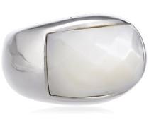 Damen-Ring 925 Sterling Silber weiß