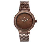Damen-Armbanduhr Analog Quarz Edelstahl DHD 007-5UM