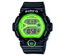 Baby-G – Damen-Armbanduhr mit Digital-Display und Resin-Armband – BG-6903-1BER