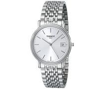Herren-Armbanduhr XL Analog Quarz Edelstahl T52.1.481.31