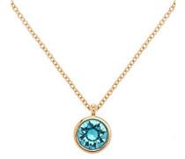 türkis kristall Dot Halskette von 44–46cm