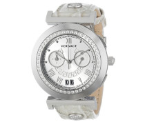 Damen-Armbanduhr Vanity Chrono Chronograph Quarz Leder VA9020013