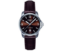 Certina Herren-Armbanduhr XL Analog Quarz Leder C001.410.16.297.00