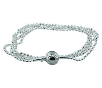Damen-Kugelkette Essence mit Kugelverschluss 925 Silber 80 cm-596005-80