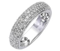 Diamonds by Ellen K. - Damenring 585/- Weißgold 50 Brillianten + 40 Diamanten 0,5Karat Größe 17 317370001-1-017