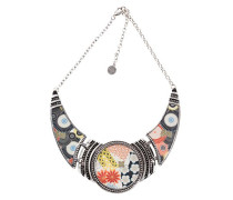 Desigual Damen-Collier Collar Japanfresh Versilbert 40 cm - 67G55J62000U