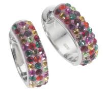 Crystelle Damencreole 925Sterling Silber Swarovski Kristalle 340210018