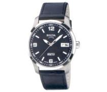 Herren-Armbanduhr Mit Lederarmband Sport 3530-03