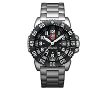 Navy SEAL Steel Colormark Herren-Armbanduhr Analog Quartz Edelstahl - XS.3152.NV