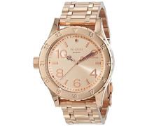 Damen-Armbanduhr 38-20 Analog Quarz Edelstahl beschichtet A410897-00
