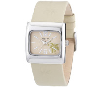 Regent Damen-Armbanduhr Analog Quarz Leder 12111054