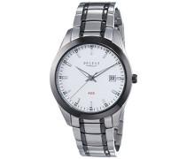 Regent Herren-Armbanduhr XL Analog Automatik Edelstahl beschichtet 11150572