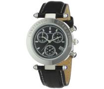 Damen-Armbanduhr Visage CD-VISL-QZ-LT-STST-BK