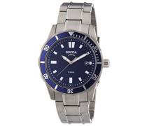 Boccia Herren-Armbanduhr XL Analog Quarz Titan 3567-04