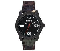 Nixon Damen-Armbanduhr Analog Quarz Nylon A964047