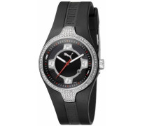 Puma Damen-Armbanduhr Analog Quarz Plastik 289100163PU101942001