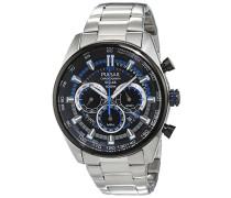 Herren-Armbanduhr WRC Chronograph Quarz verschiedene Materialien PX5019X1