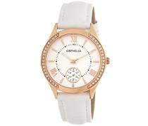 Damen-Armbanduhr Analog Quarz Leder 11502