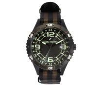 Herren-Armbanduhr Analog Quarz Textil DHH 002-3AZ