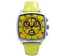 Herren-Armbanduhr Analog Quarz Leder 0262GSG