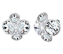 Damen-Ohrstecker 925 Silber Swarovski Kristall Facettenschliff - 0303620816