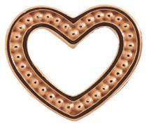 Bead/Charm 925SI Brushed Heart