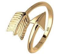 Damen Ring Pfeil Trendsymbol 925 Sterling Silber Ringgröße: verstellbar 0607992015