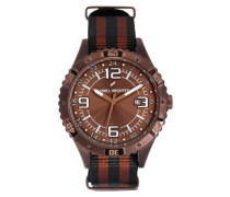 Herren-Armbanduhr Analog Quarz Textil DHH 002-5UU