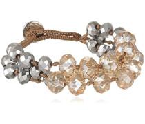Damen-Armband Glas creme 19 cm - 336755