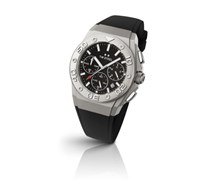 TW Steel Herren-Armbanduhr XL CEO DIVER Chronograph Quarz Kautschuk TWCE5009