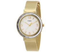 Damen-Armbanduhr XS  Style Women's Dress Analog Quarz Edelstahl T2P197