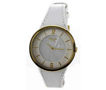 Damen-Armbanduhr Analog Quarz Leder 3161-14