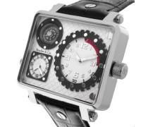 Herren-Armbanduhr Analog Quarz Leder OZG1150 (OZG1133)