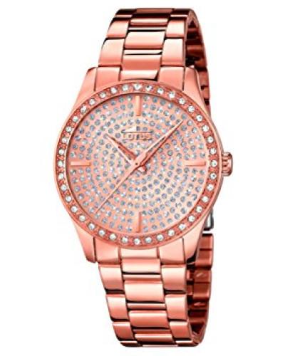 Damen-Armbanduhr Analog Quarz Edelstahl 18136/1