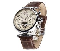 Ingersoll Damen-Armbanduhr Walldorf II Chronograph Automatik Leder IN1319CR